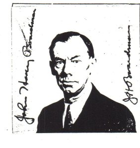 John H. Boardman's naturalization picture