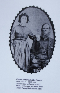 Charles Little and Mary Jane Squance